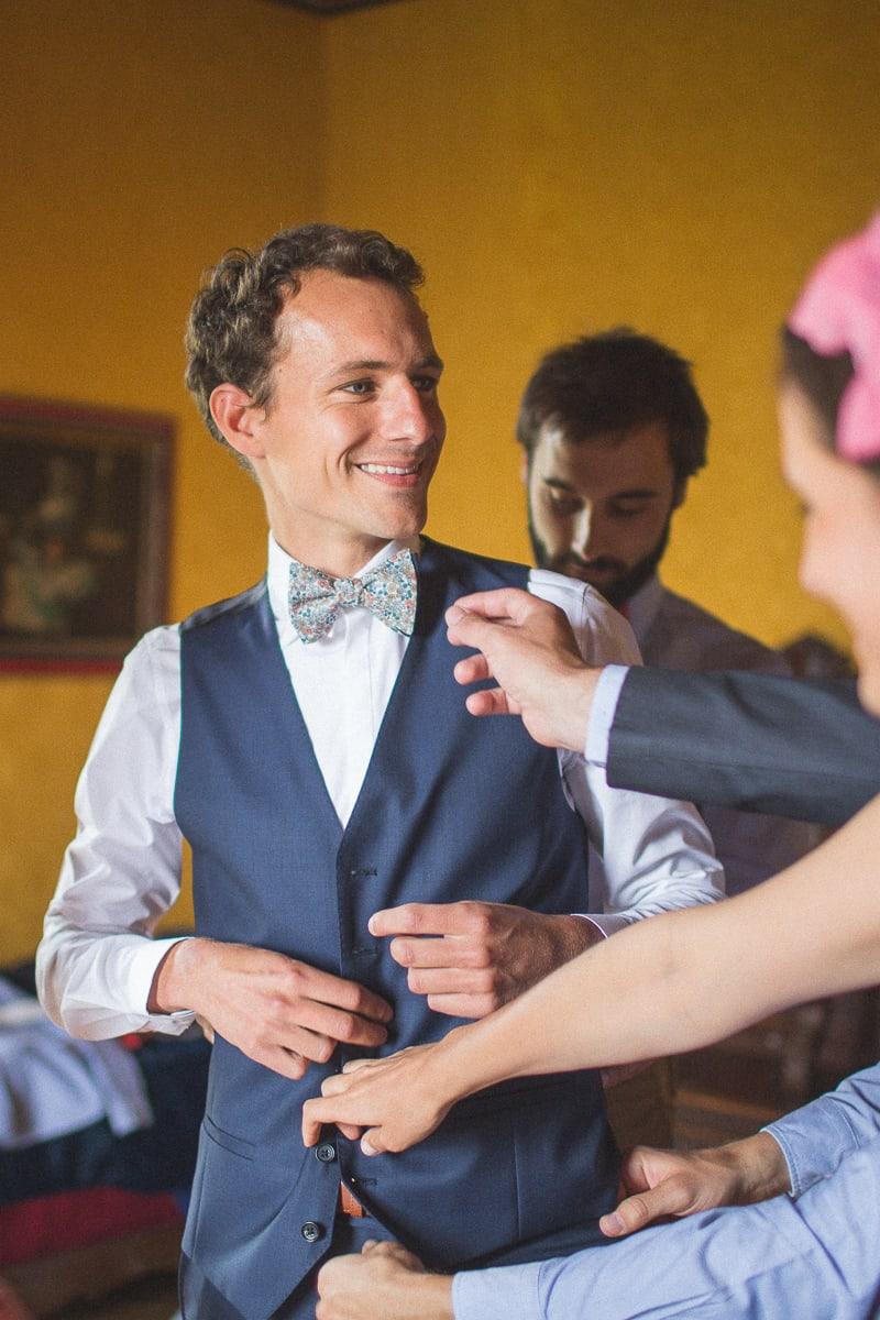 Photographe Mariage au Château de Frontenay Sylvain Bouzat.
