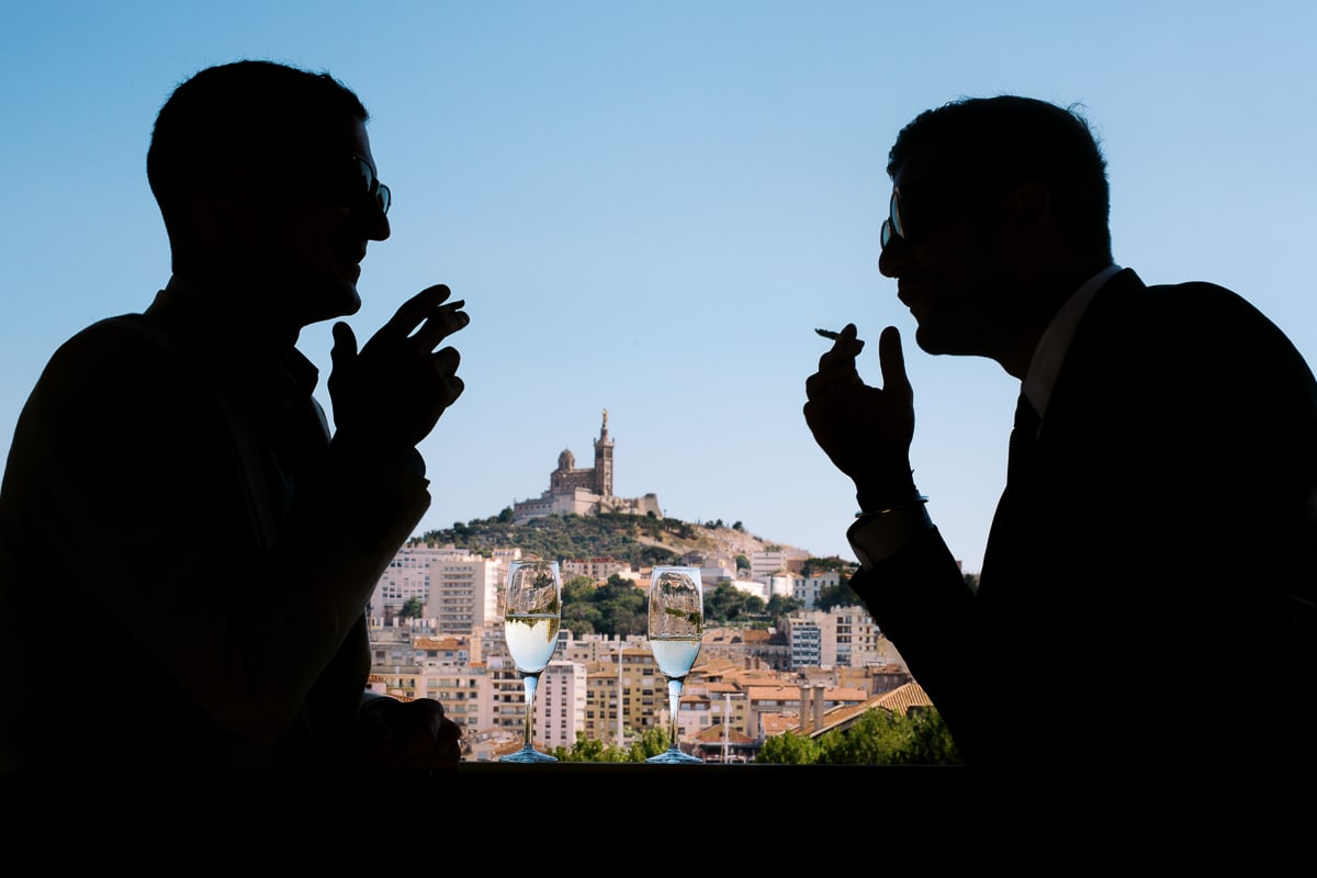 Wedding in Aix en Provence by the photographer Sylvain Bouzat.
