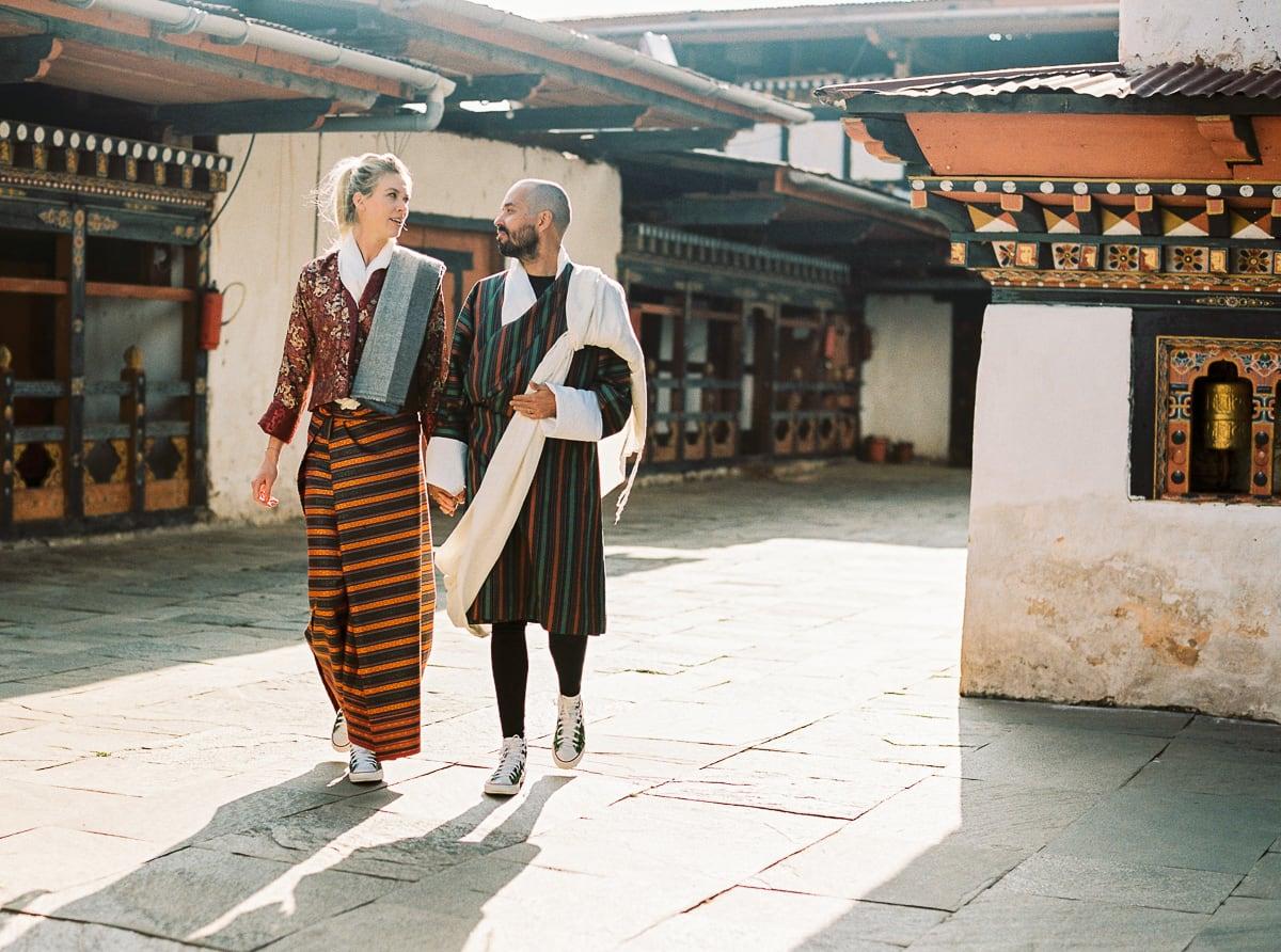Buddhist wedding photographer Sylvain Bouzat.