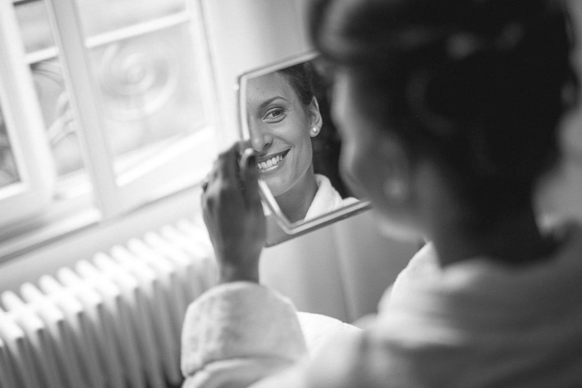 Préparatif du mariage à Chamonix à l'Hôtel Mont Blanc avec Sylvain Bouzat, photographe d mariage.