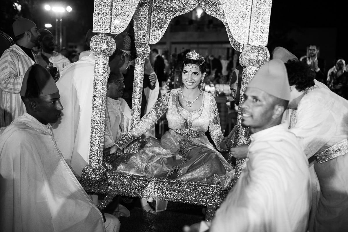Le mariage traditionnel à Marrakech par le photographe Sylvain Bouzat.