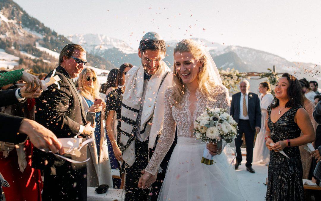 Mariage à Megève