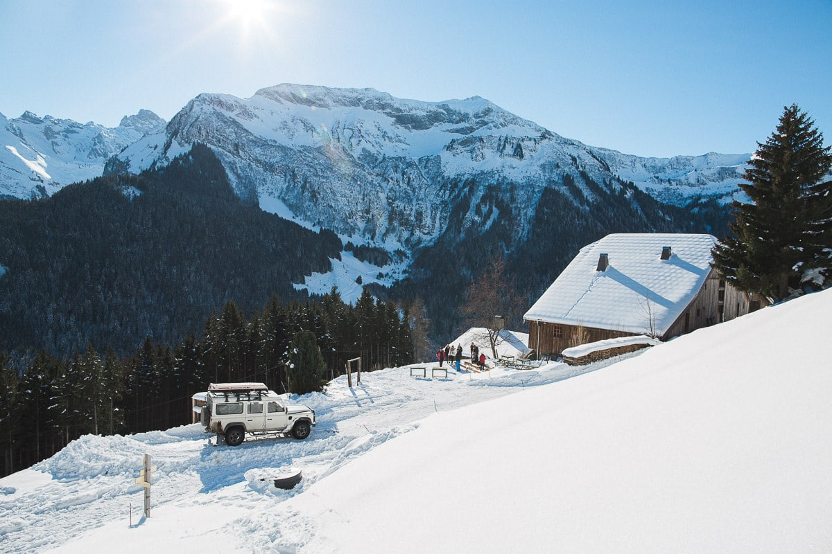 Un mariage à la montagne par le photographe Sylvain Bouzat.