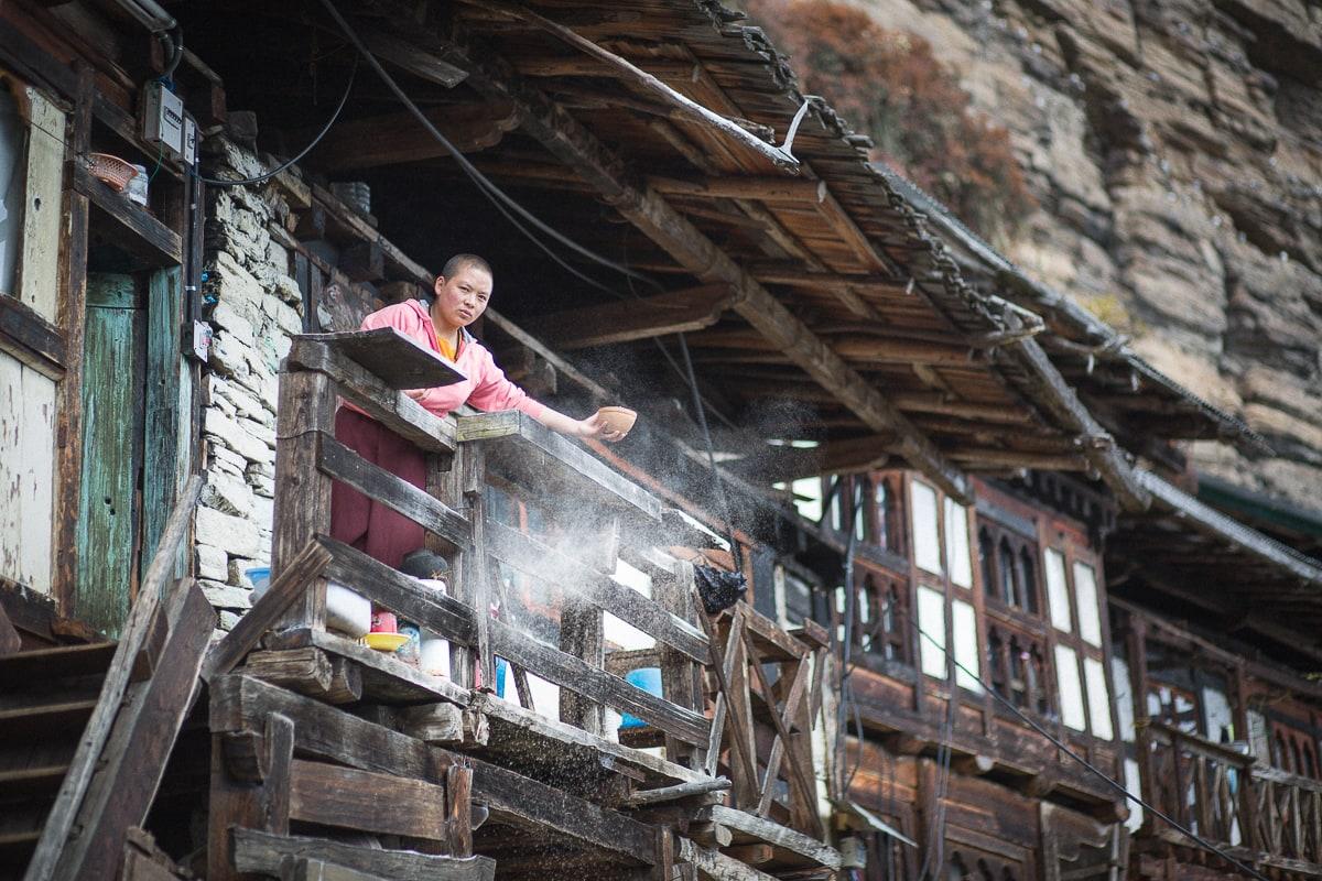 Photographe de voyage au Bhoutan Sylvain Bouzat.