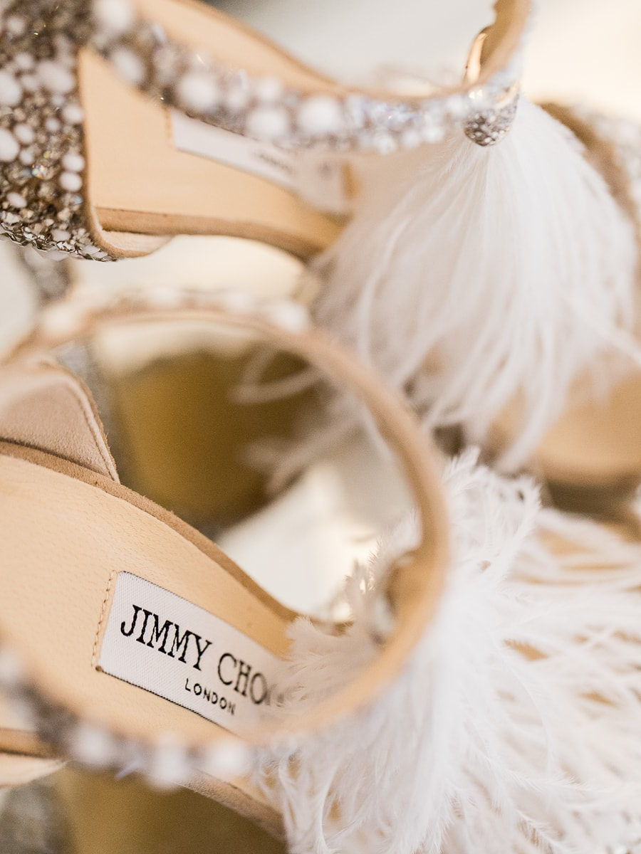 Shoe details for a beautiful wedding in Provence.