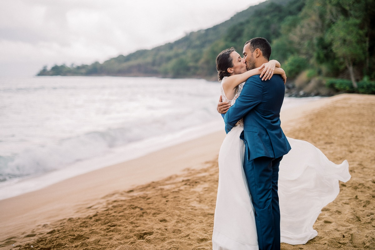 Getting married in Saint Barth with wedding photographer Sylvain Bouzat.