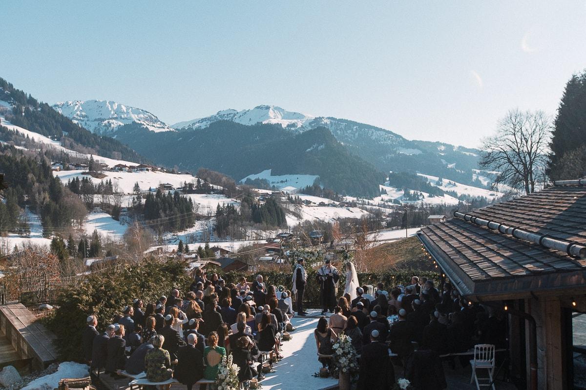 Swiss Alps wedding photographer Sylvain Bouzat.