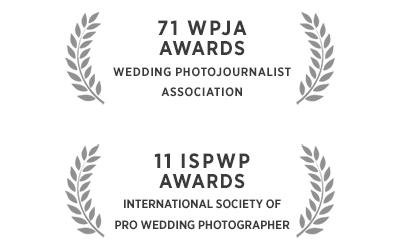 Awarded wedding photographer Sylvain Bouzat