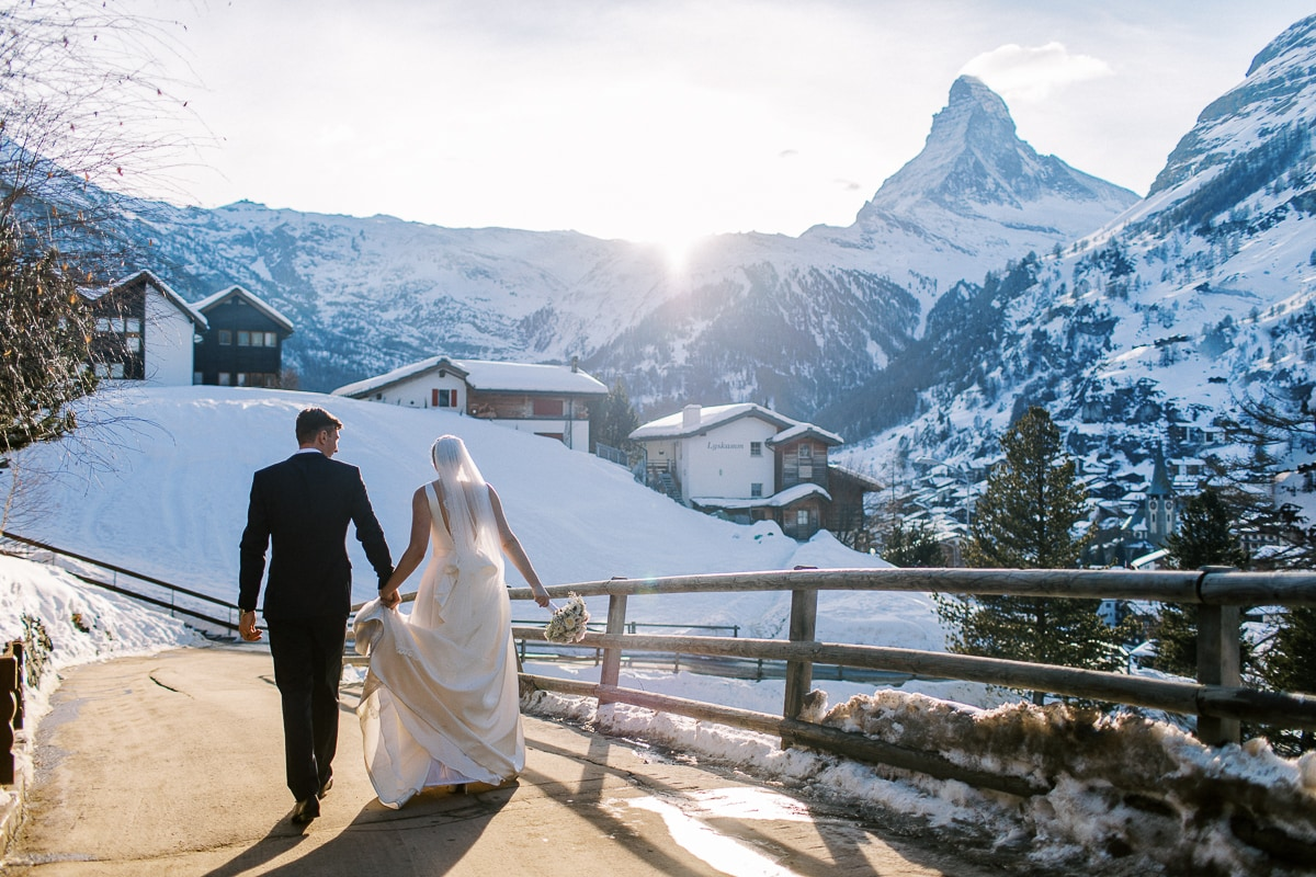 Zermatt Wedding Photographer Sylvain Bouzat.
